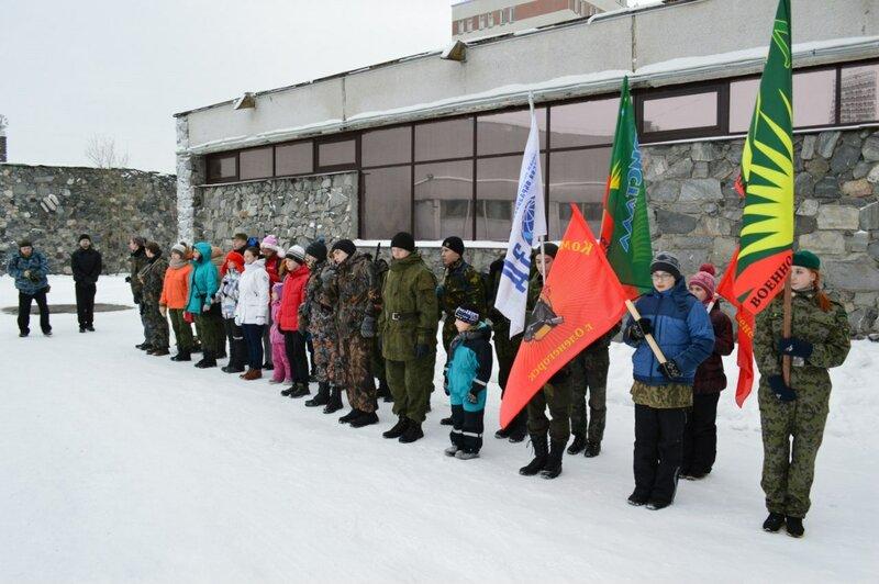 Слет патриотических молодежных клубов Мурманской области в рамках XVIII фестиваля солдатской песни в Оленегорске