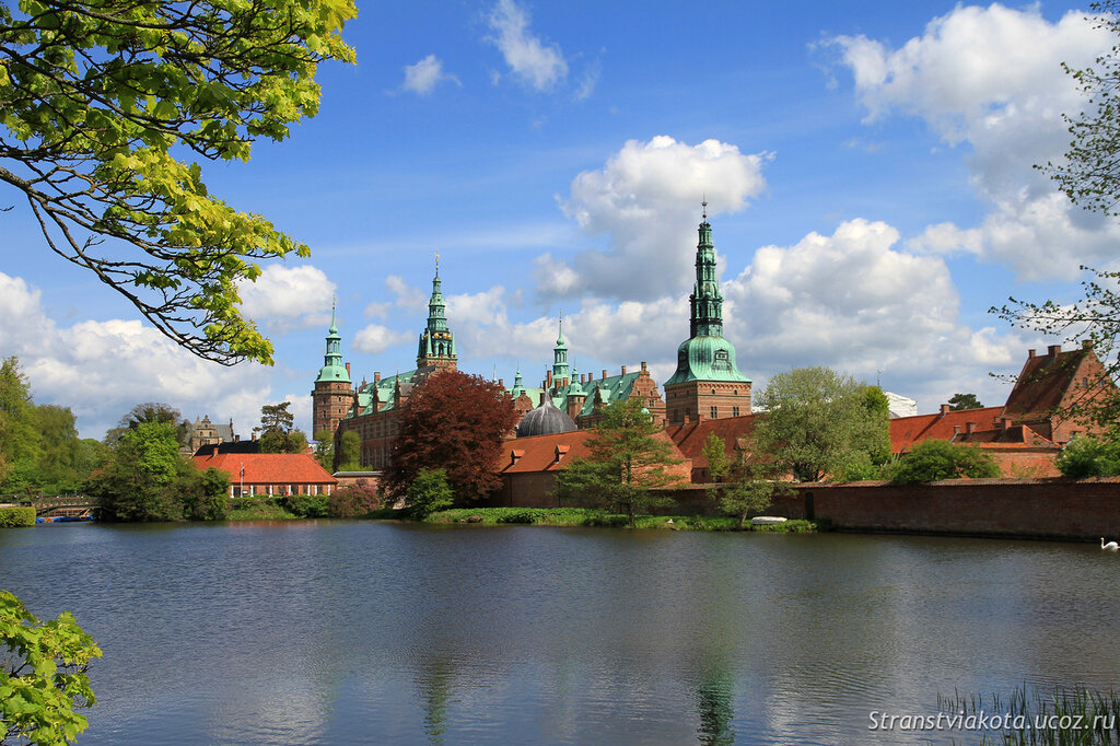 Дания, замок Фредериксборг