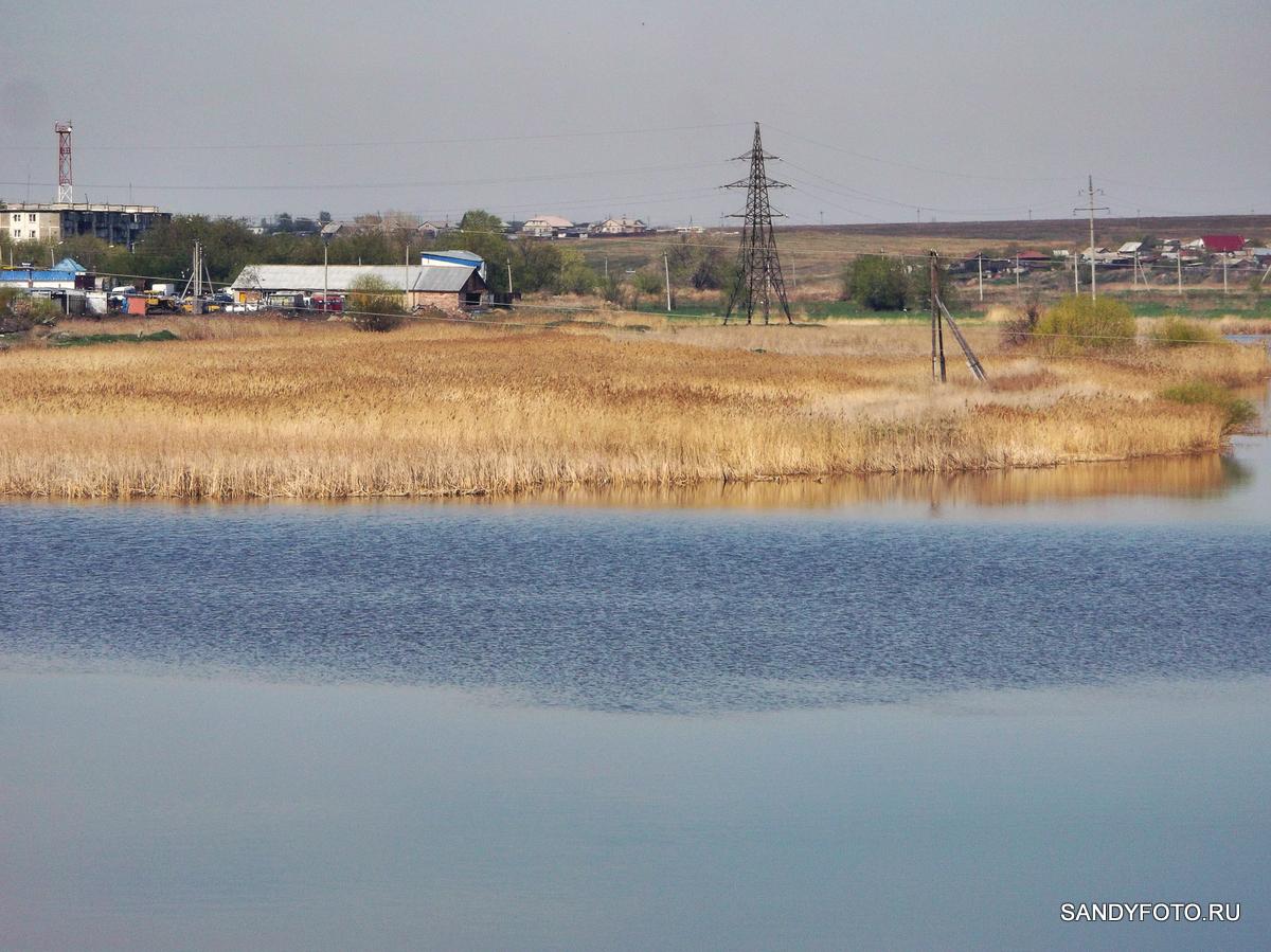 Интересный эффект на реке Увельке