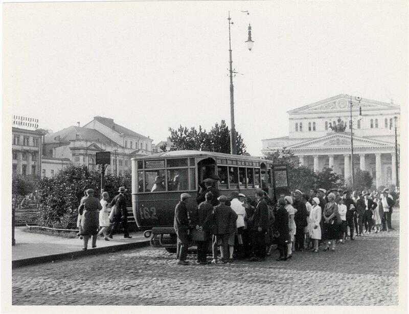 Театральная площадь, кон. 1920-х гг.