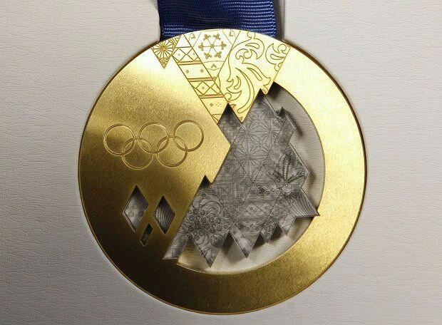 золотая медаль Сочи