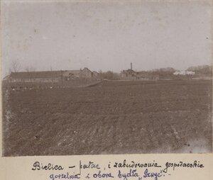 Вид дворца и здания завода