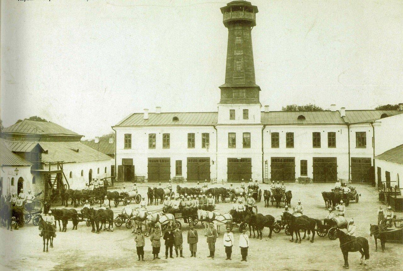 Пожарная часть города Калуги
