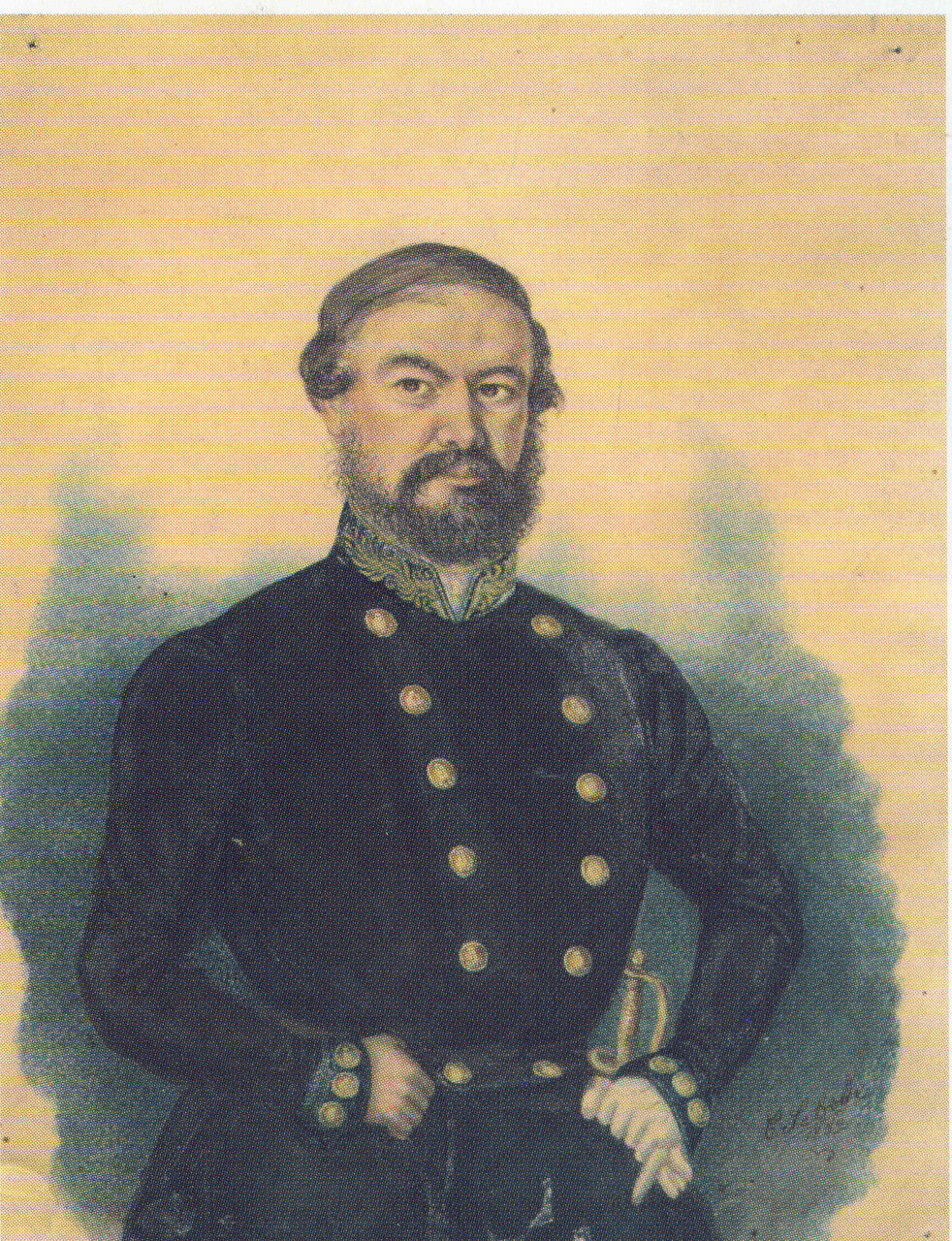 1853. Калужский купец А.А. Рыжичков