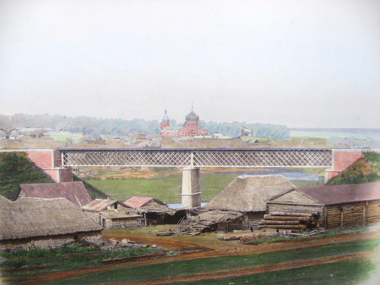 22. Мост через реку Плаву близ станции Сергиево