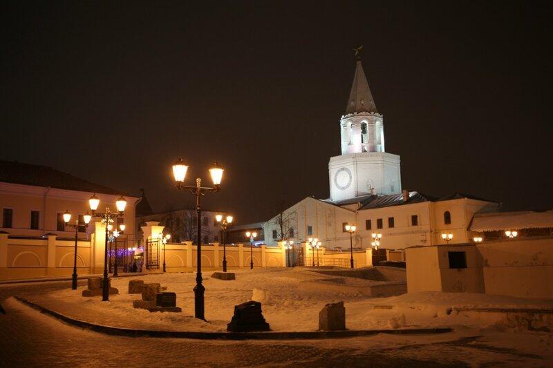 Казань, Спасская башня