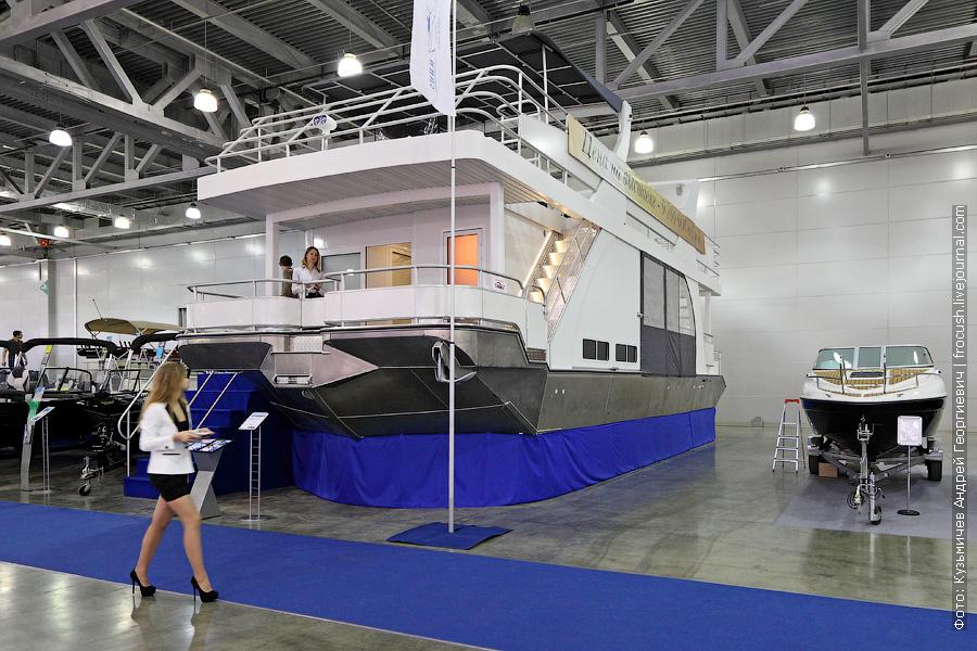выставка катеров и яхт Москва в Крокус Экспо