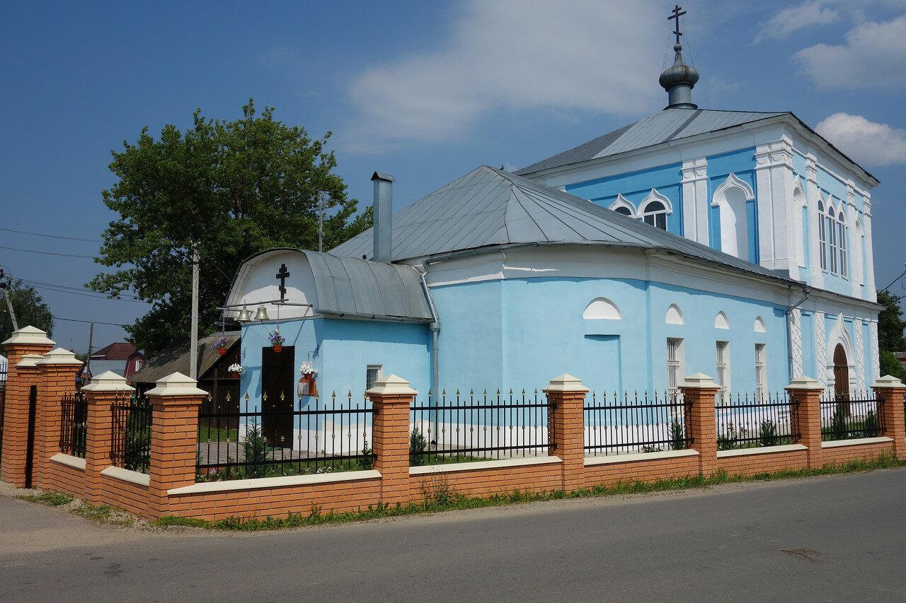 храм голубой