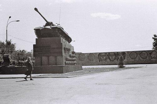 Памятник Танкограду. Танк «ИС-3»