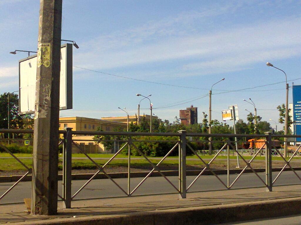 Водонапорная башня ленинградского мясокомбината