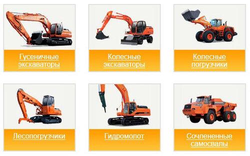Со строительной техникой Дусан работа станет проще