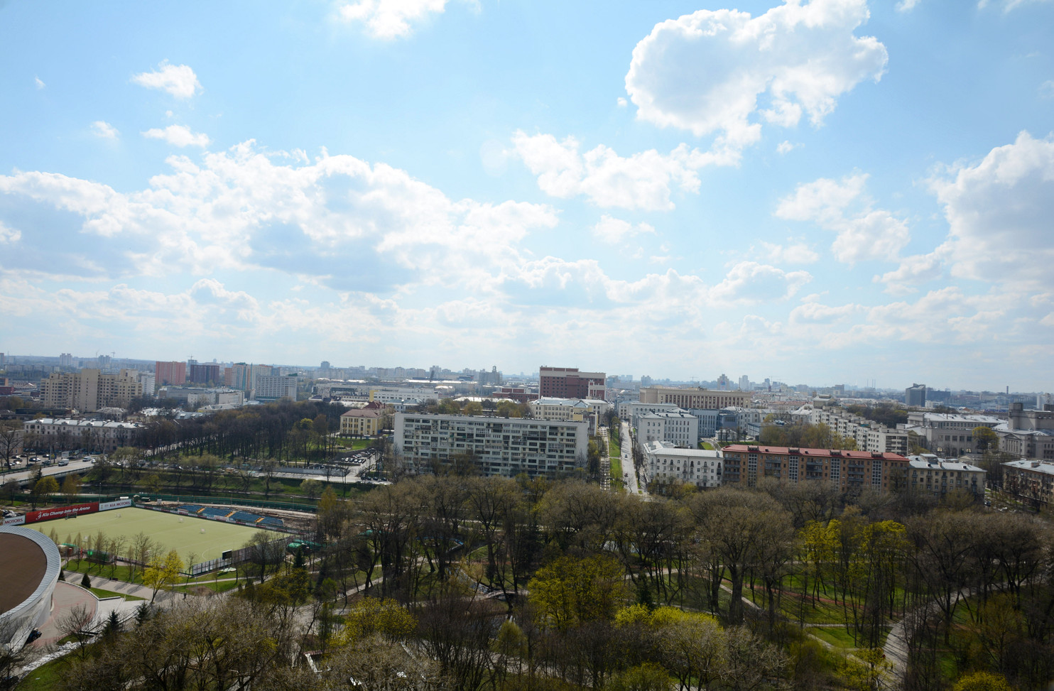 Минск перед ЧМ по хоккею 2014