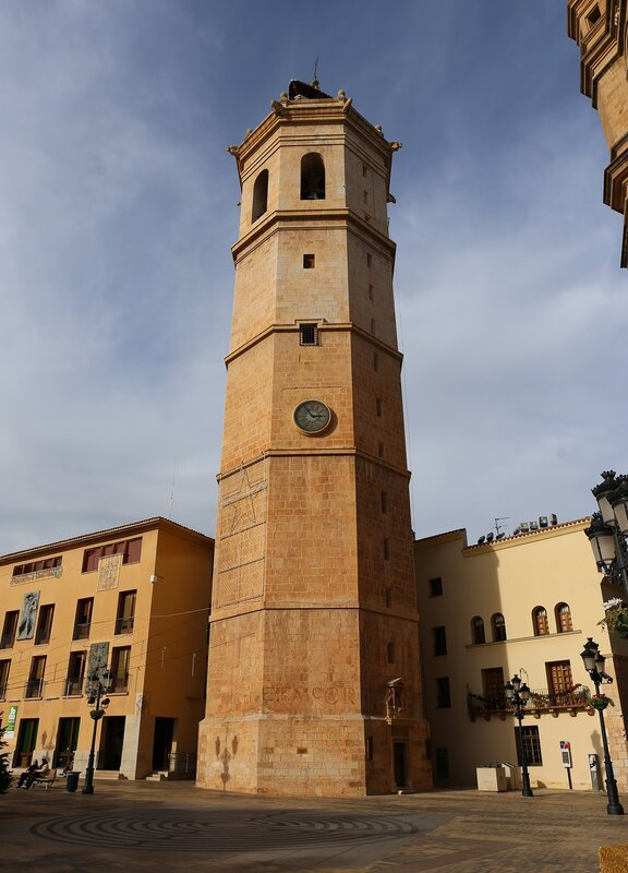 castellón de La Plana. Torre El Fadrí, the tower of El ferdie