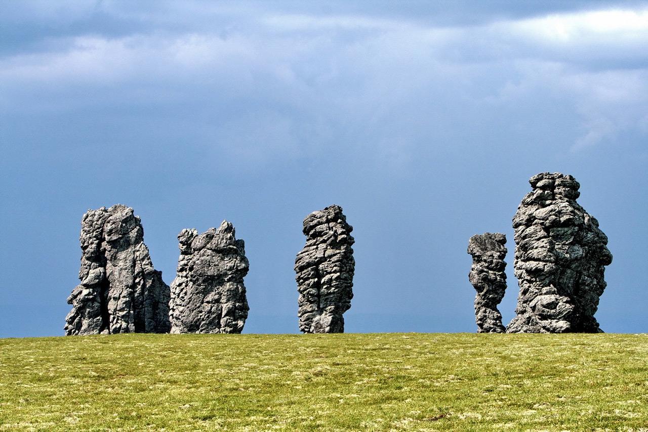 9 Мексика? Неверно! Столбы выветривания на плато Маньпупунёр в Печоро-Илычском заповеднике в республ