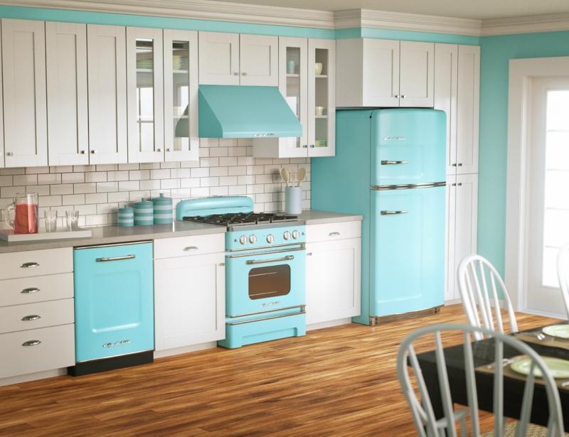 Белый цвет в интерьере кухни, фото 1