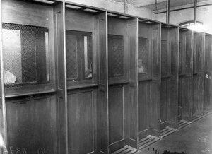 Комната для свиданий заключенных с родными.