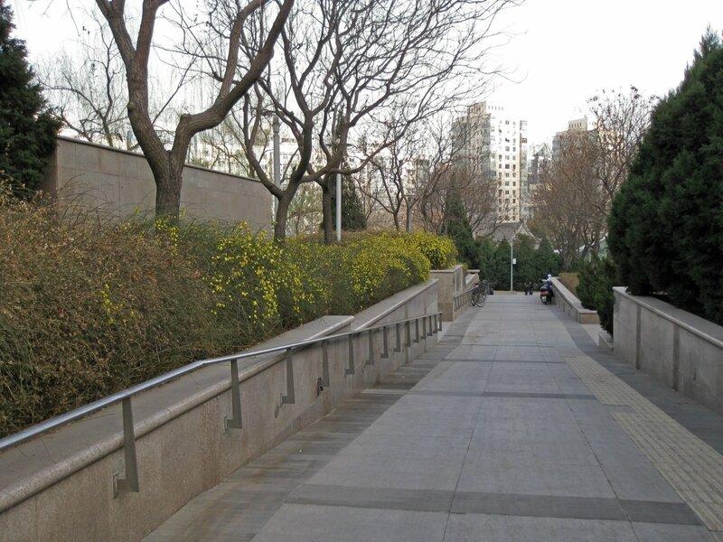 Парк в Чжунгуаньцунь
