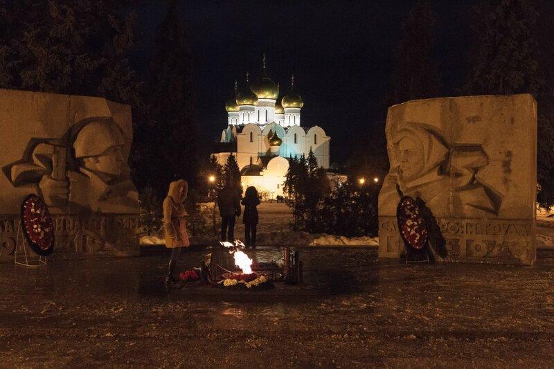 Вечный огонь, Успенский кафедральный собор