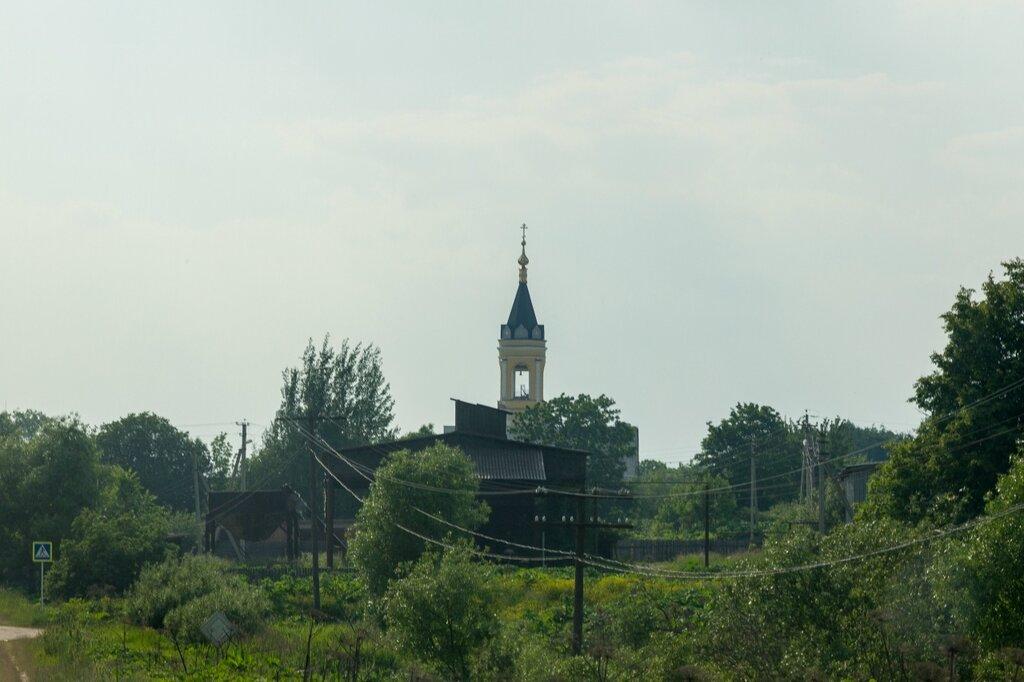 Церковь Николая Чудотворца. Колокольня бывшей Богородице-Рожественской церкви (Черкутино)