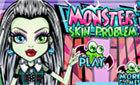 Монстр Хай макияж  (Monster High Skin Doctor)
