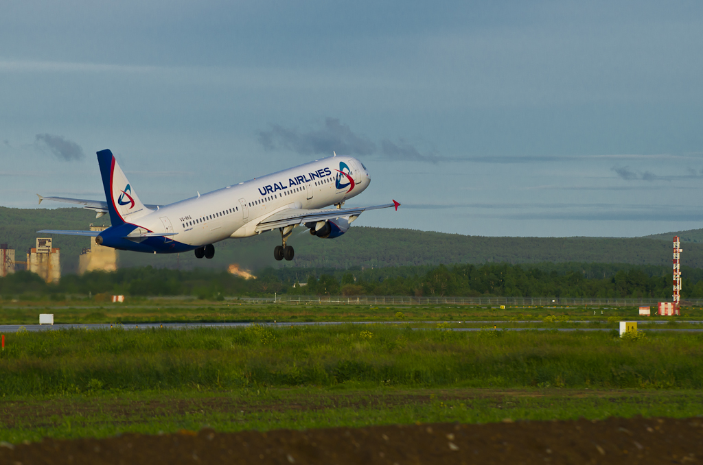 Фото 9. Уральские авиалинии. Споттинг в Кольцово