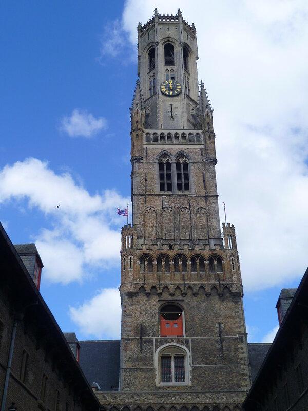 Башня Беффруа в Брюгге (Belfry in Bruges)