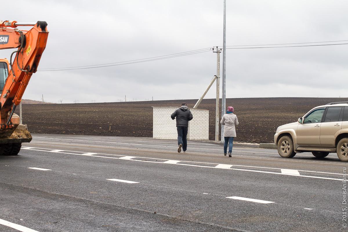 Строительство автодороги в обход Елшанки 26