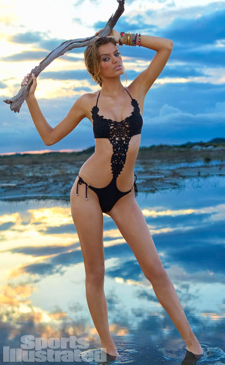 Брегье Хейнен в купальниках Sports Illustrated Swimsuit 2014 - Bregje Heinen by Raphael Mazzucco in Brazil