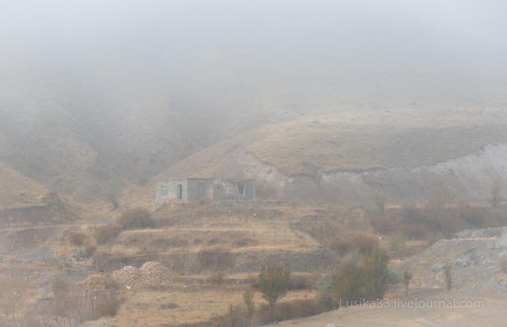 Иран, туман