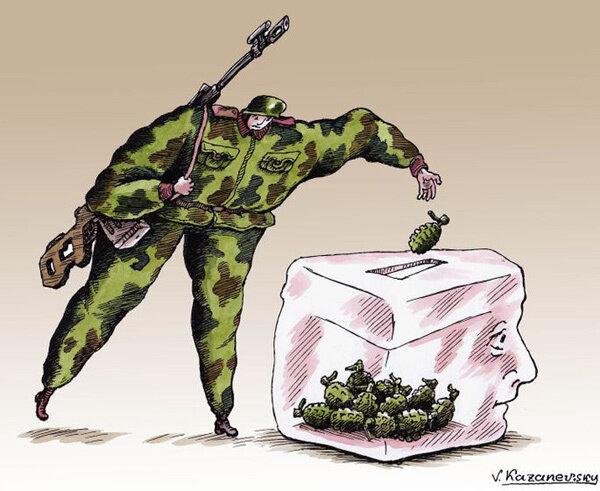 Plebiscite in Crimea © Vladimir Kazanevsky