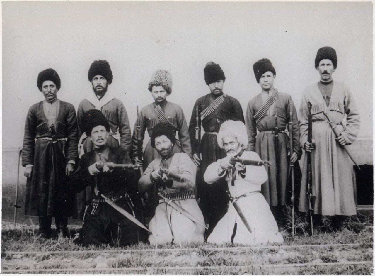 Пограничнники в районе Баку