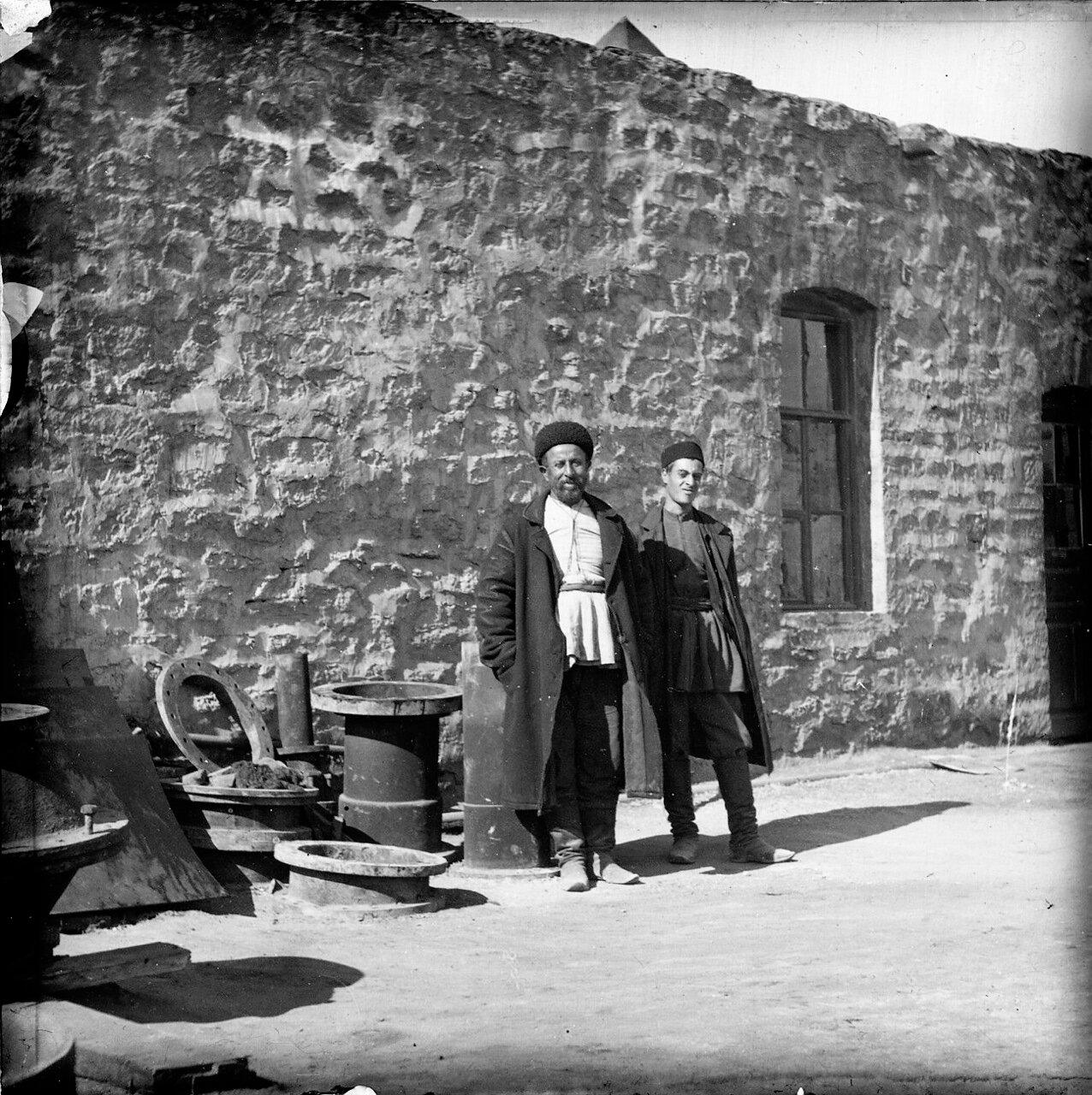 Посещение района Баку в 1903