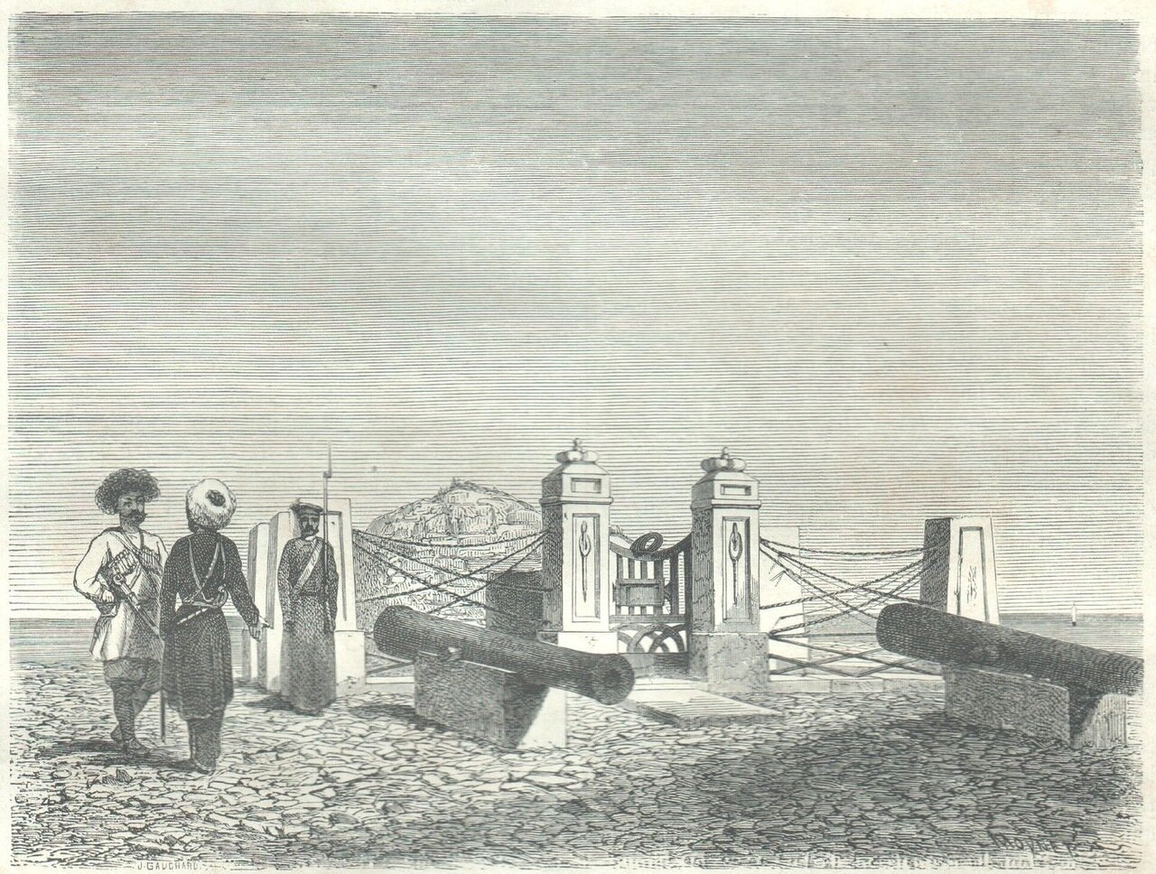 1860. Окрестности Дербента