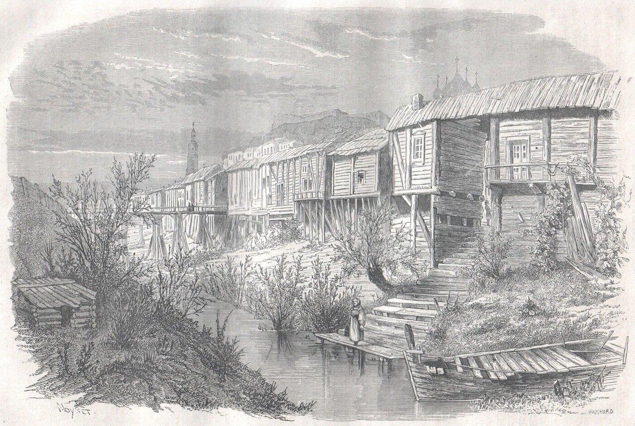1867. Казань. Старые конюшни
