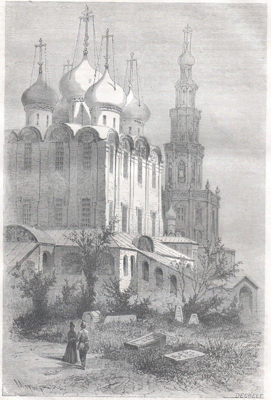 1867. Москва. Женский монастырь