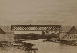 Железнодорожный мост через реку Эльва