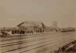 Рига. Локомотивное депо на железнодорожной станции