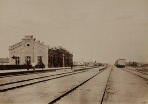 Валк. Железнодорожная станция