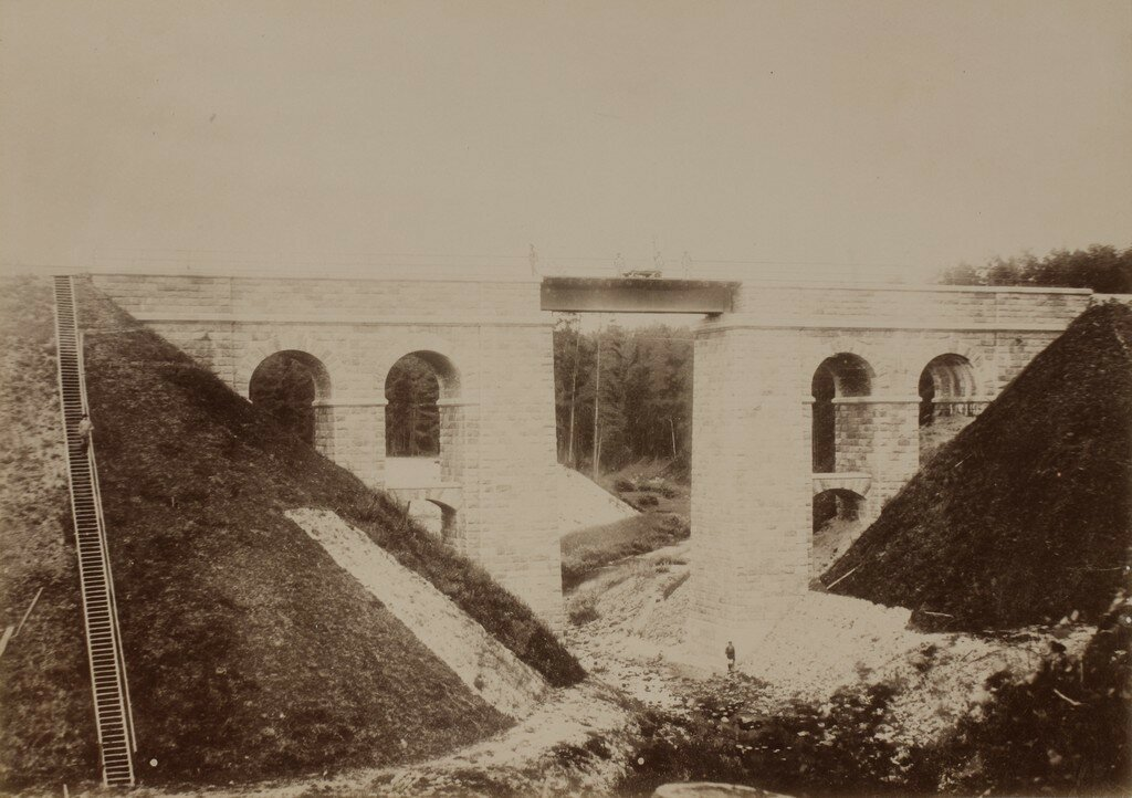Железнодорожный мост через ручей Тудерна