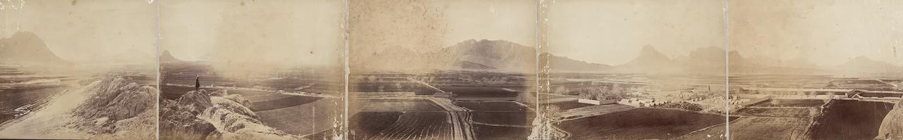 1890-е. Панорама Кандагара. Афганистан