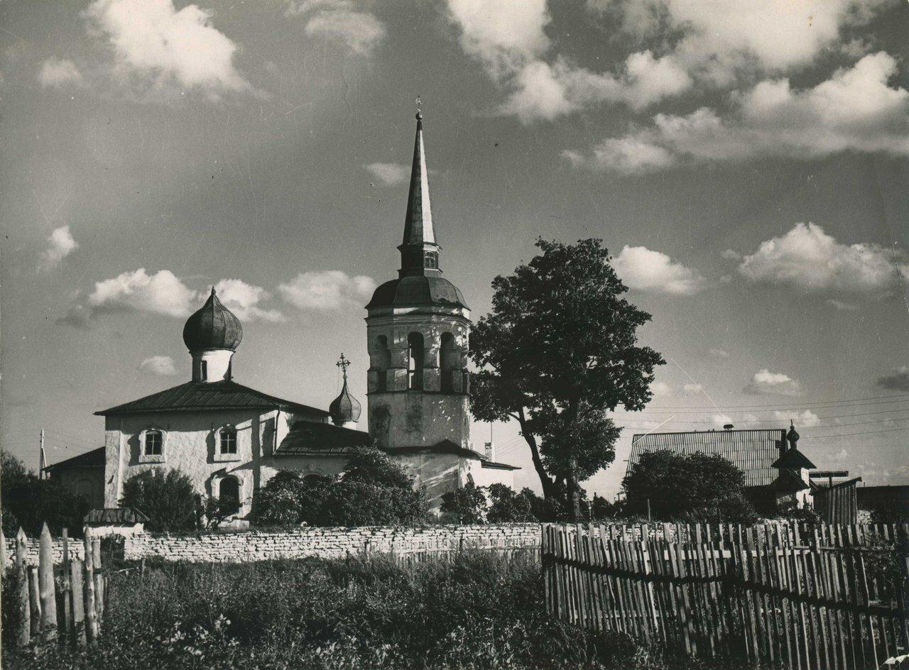 1930-е. Успенская церковь в Бутырках. Вид с северной стороны
