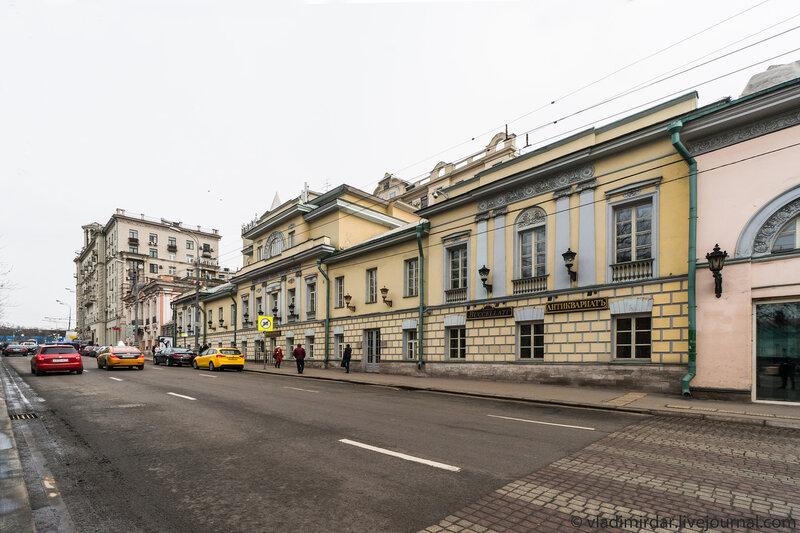Тверской бульвар, 26, стр.3 - Ресторан Турандот, кондитерская Пушкин