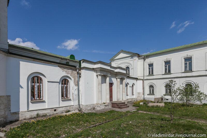 Западная галерея-переход. Усадьба Ивановское.