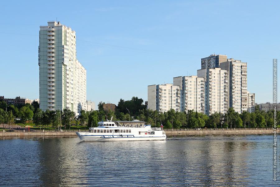 19 мая 2013 года 19:12. Москва. Южный речной вокзал. Теплоход «Арго-2»