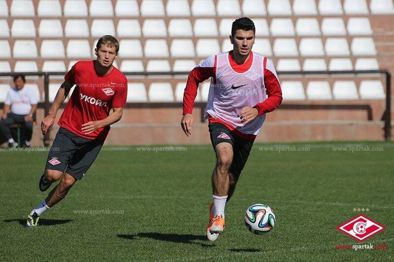 «Спартак» тренируется в испанской Марбелье (Фото)