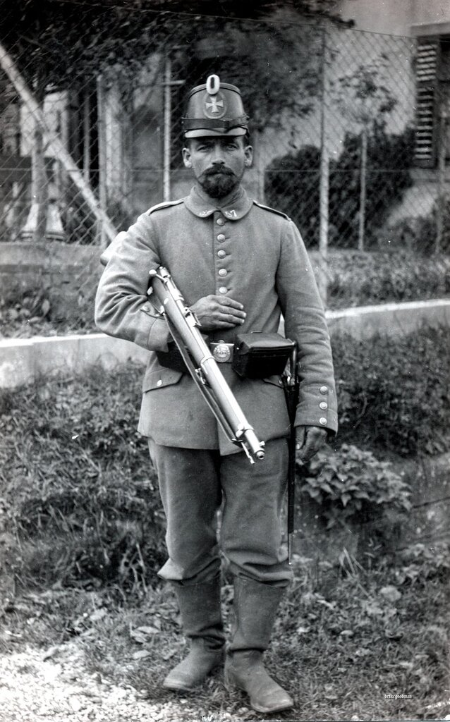 Landsturmmann Anton Kolle from the 57th Infantry Brigade 1914