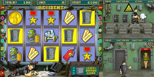 Игровой автомат Resident играем бесплатно