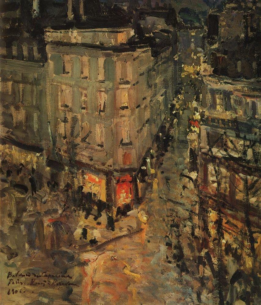 Париж. Бульвар Капуцинок. 1906.jpg