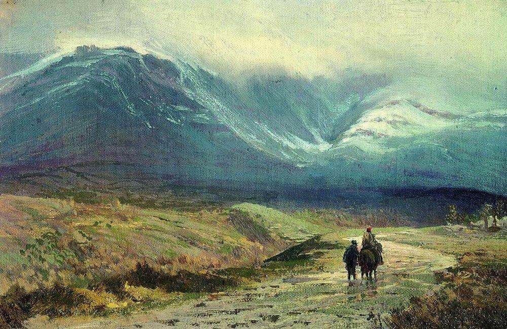 В Крыму. После дождя. 1873.jpg