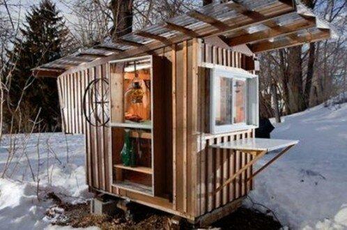 Маленькие дома - кабинки или релакс лачуги